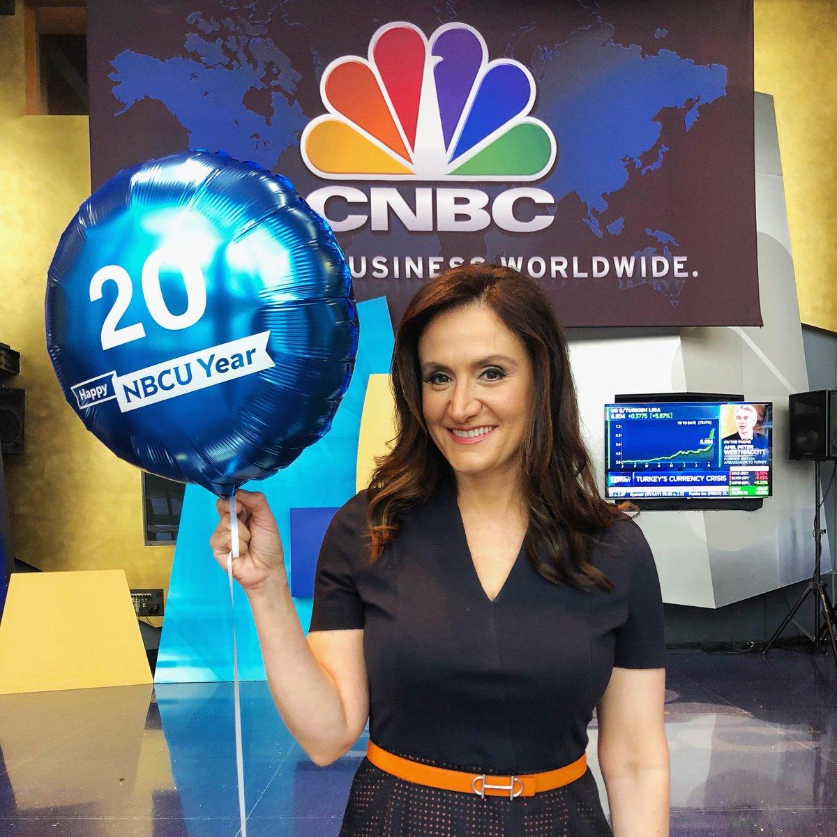 RT @MCaruso_Cabrera: Celebrating 2 decades at CNBC! https://t.co/ut55enwDUe