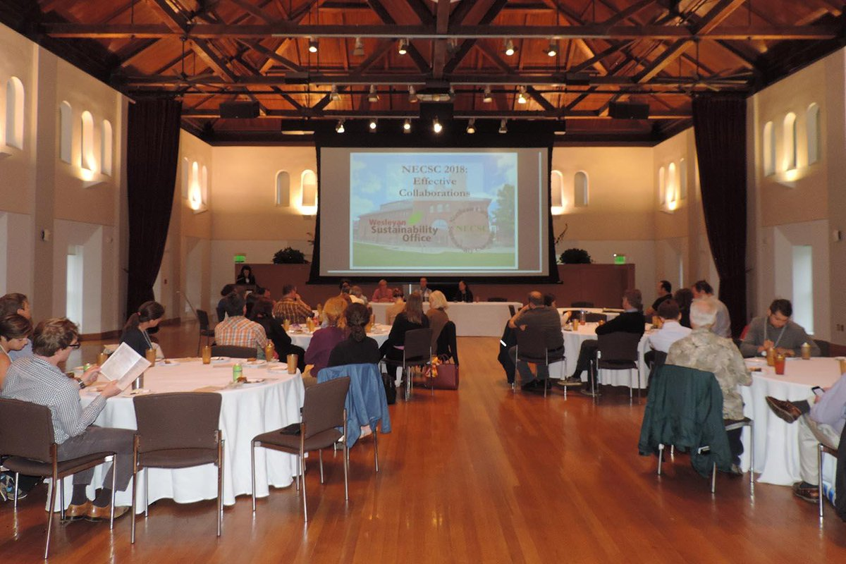 test Twitter Media - Three Wes employees participated in the Northeast Campus Sustainability Consortium's Annual Meeting on effective collaborations within a campus, between campuses, and between campus and community. Learn more about their panel: https://t.co/DQEAt01mjh @sustainablewes https://t.co/W0xO4ZMmHp
