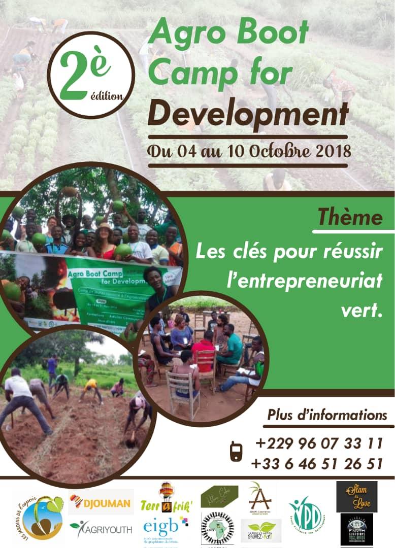 test Twitter Media - Ravis de vous annoncer la 2e édition de #AgroBootCamp : formation innovante en #agroecologie et #entrepreneuriat vert. Pour l' #autonomisation de la jeunesse et la #securiteAlimentaire en #Afrique !  #ABC4D #Team229 #Team237 #CIV #Senegal #Mali #Burkina #Tchad https://t.co/nUCYzpNhYe