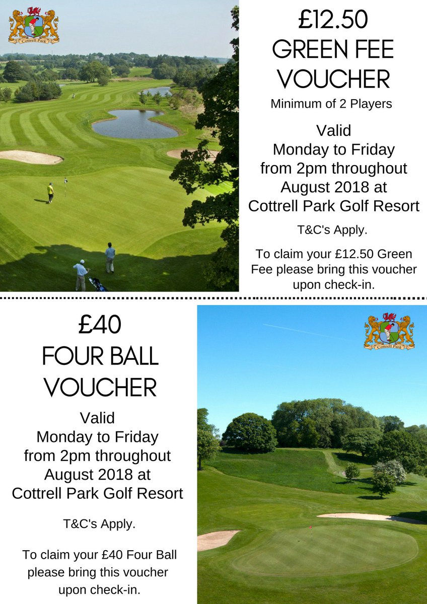 test Twitter Media - AUGUST OFFERS 🏌️♀️☀️  Take advantage of our AMAZING August offers. Green Fees from £12.50PP Minimum 2 Players  Four ball for £17.50PP   Book yours on; T: 01446 781781 Opt1  (T's&C's Apply) https://t.co/kACs4bYxRB