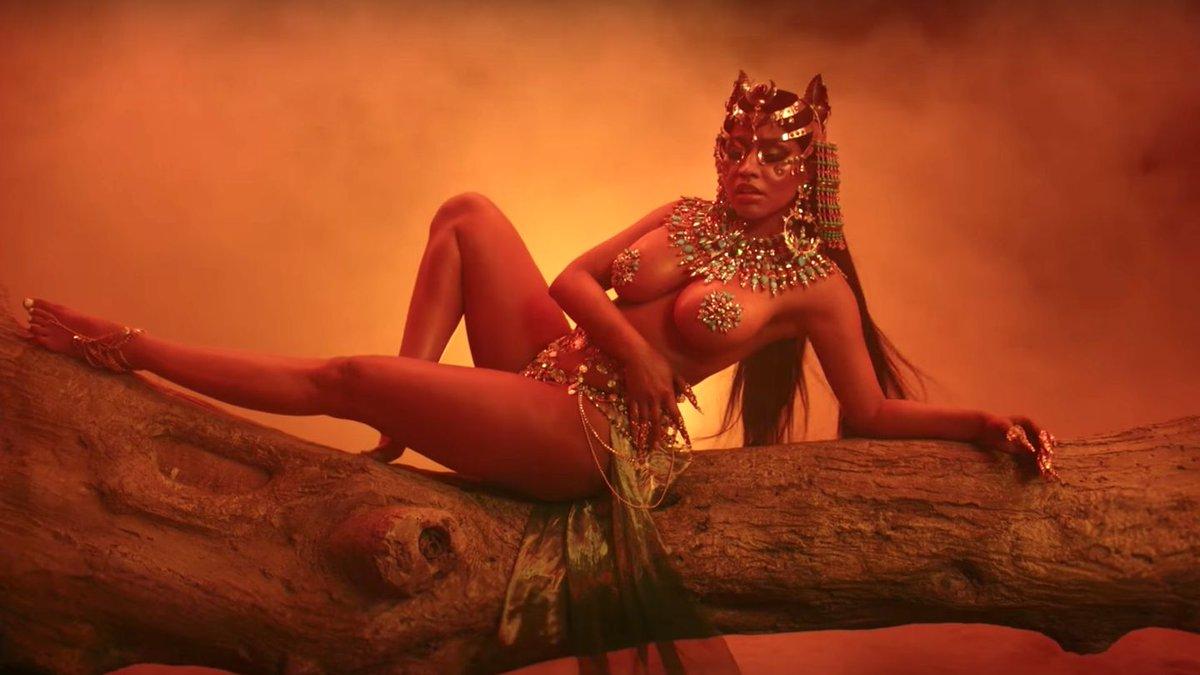 Nicki Minaj's 'Ganja Burn' Gives Us The Mummy Remake We Didn't Know We Needed