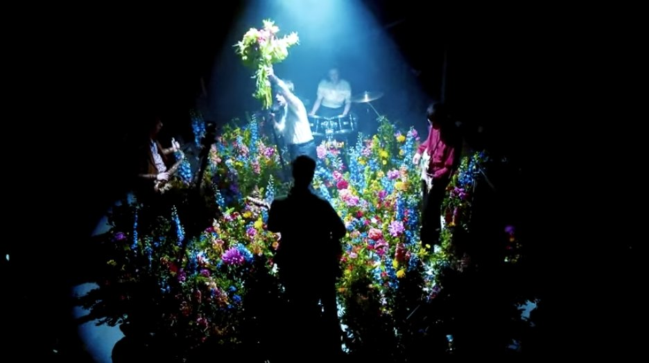 Watch Iceage's Japanese flower art-inspired video for