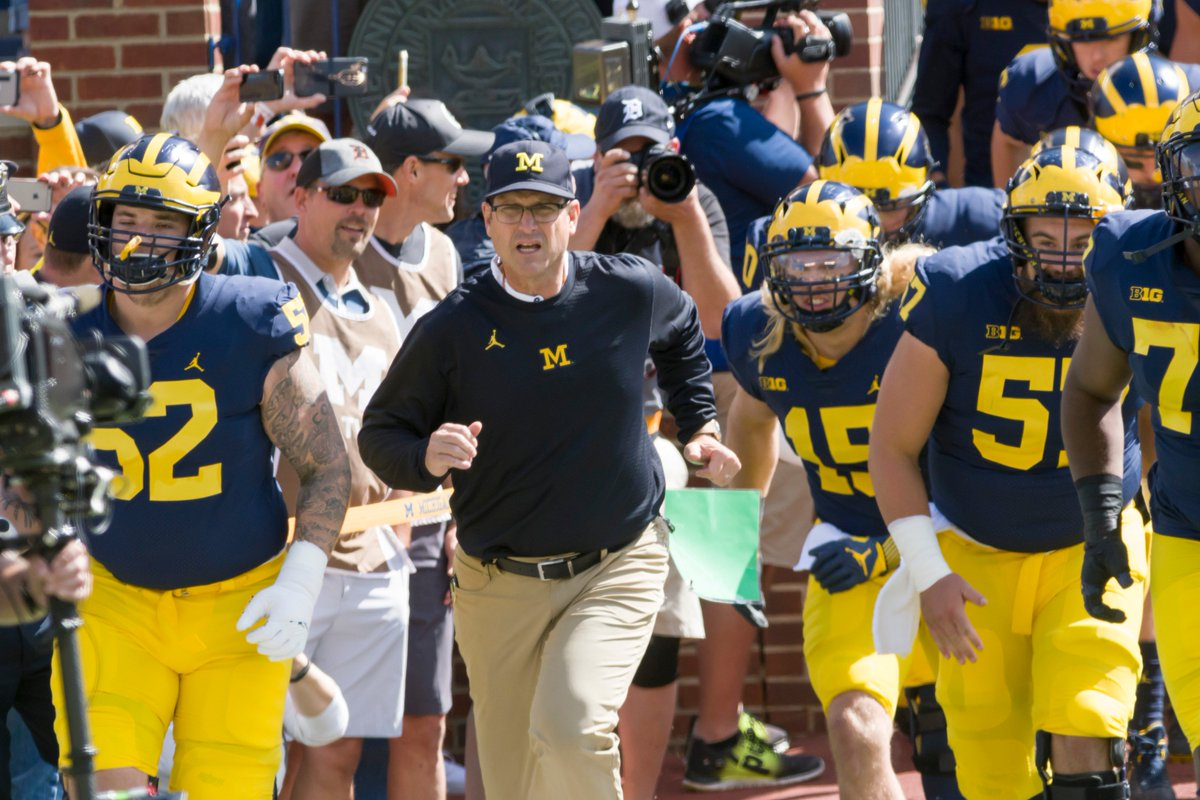 RT @detroitnews: Harbaugh doesn't anticipate suspensions from shoe investigation https://t.co/Gk5gRqFCzT https://t.co/5UapHui4nG