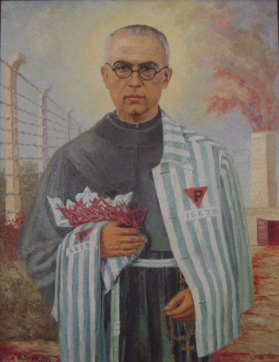 test Twitter Media - Today is the memorial of a truly brave and inspiring man, St Maximilian Kolbe, who in Auschwitz gave his life for the sake of another. Let's wish a very Happy Feastday to our sisters and friars in Gosport and Alderney - and please say a prayer for them. https://t.co/729pOL27Pw