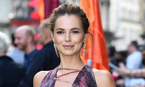 Is Kara Tointon pregnant? EastEnders star cradles stomach at movie premiere: