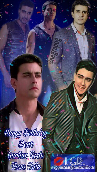 Dear, Happy birthday...   From Chile  with much love... blessings LGR