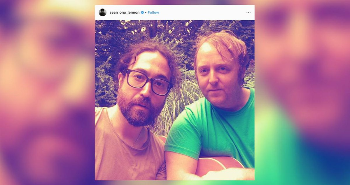 Paul McCartney's and John Lennon's Sons Pose Together in New Selfie