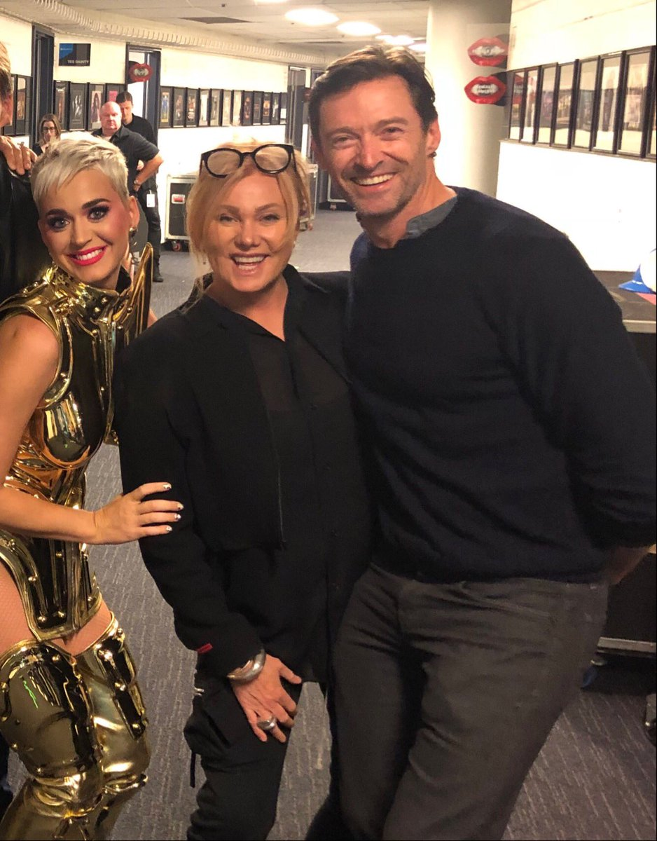 Amazing concert. @katyperry is the bomb! Her energy on stage is contagious. Loved it. @Deborra_lee https://t.co/c4ut6Xvg44