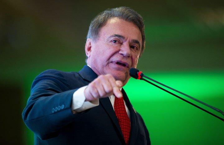 @BroadcastImagem: Álvaro Dias propõe reforma da Previdência com recurso de privatizações em contas. Wilton Júnior/Estadão
