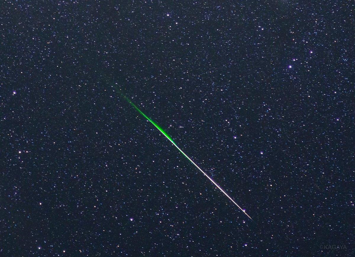 RT @kagaya_work: 流星がネギに見えてきたのですが、やはり連夜の撮影で疲れているんですかね…。...