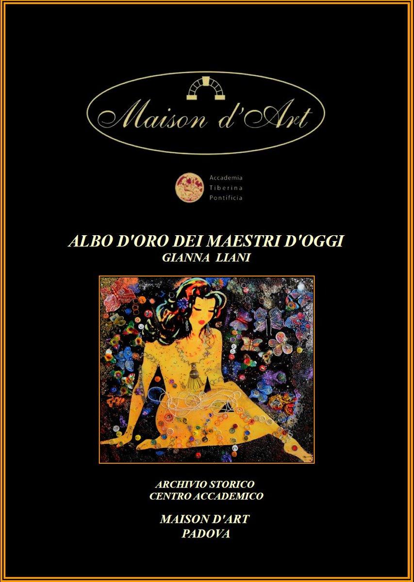 """test Twitter Media - Mi sento molto onorata ad apparire sull'Albo d'oro dei Maestri d'oggi con l'Opera """"FILOMENA Ultra Pop Art"""" pubblicato da MAISON D'ART - PADOVA https://t.co/7jYLTuGVpJ"""