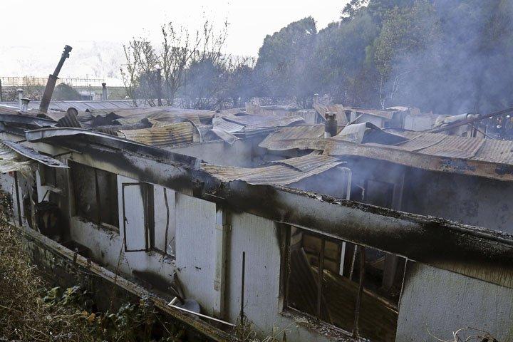 @BroadcastImagem: Incêndio em asilo no Chile deixa pelo menos 10 mortos. Alejandro Zonez/AP