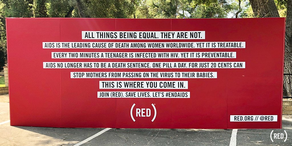 RT @RED: We fought to #endAIDS at #CampMars this weekend. Thank you @JaredLeto and @30SECONDSTOMARS for having us! https://t.co/87hkaVyvDi