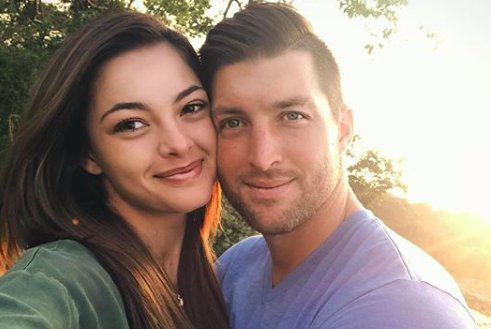 Miss Universe Demi-Leigh Nel-Peters sends birthday wishes to Tim Tebow