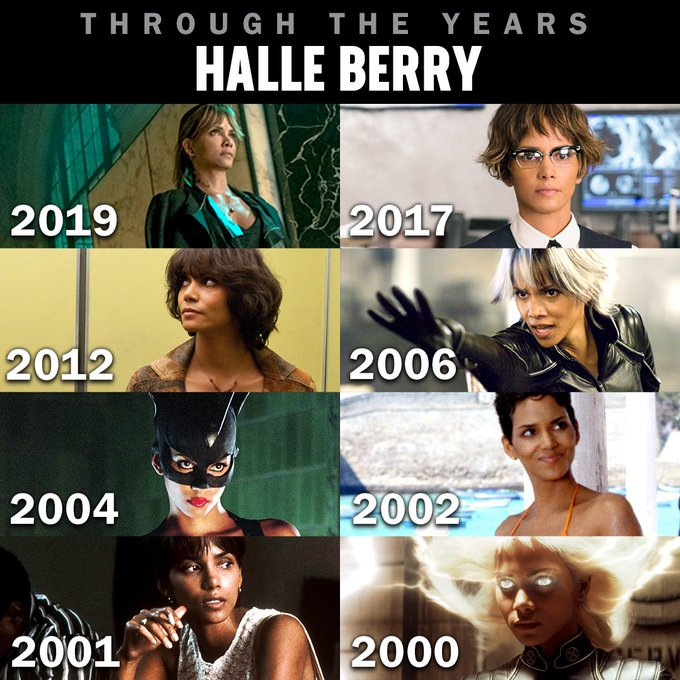 Happy Birthday to Halle Berry - who next stars in