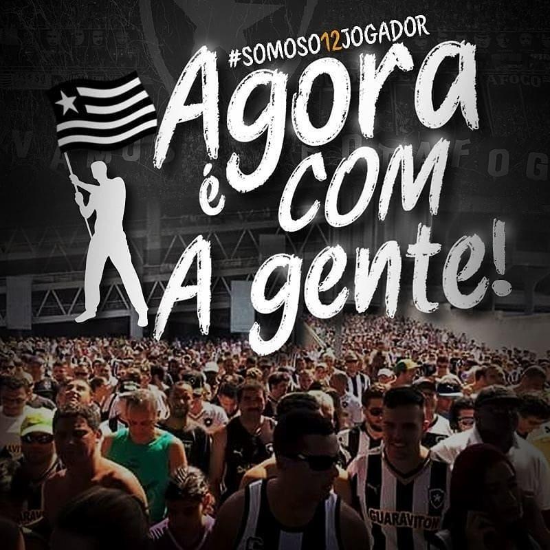 RT @BotafogoNews: NÓS SOMOS O BOTAFOGO! 🔥  #QueremosOBi #VaiPegarFogo https://t.co/t0CzsY2HUn