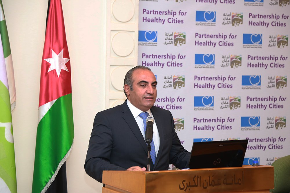 test Twitter Media - Amman, Jordan Mayor Yousef Shawarbeh affirmed the city's commitment to being completely smoke-free through its work with the @BloombergDotOrg Partnership for Healthy Cities initiative. #Cities4Health #BeatNCDs https://t.co/6QKGZAkVzL