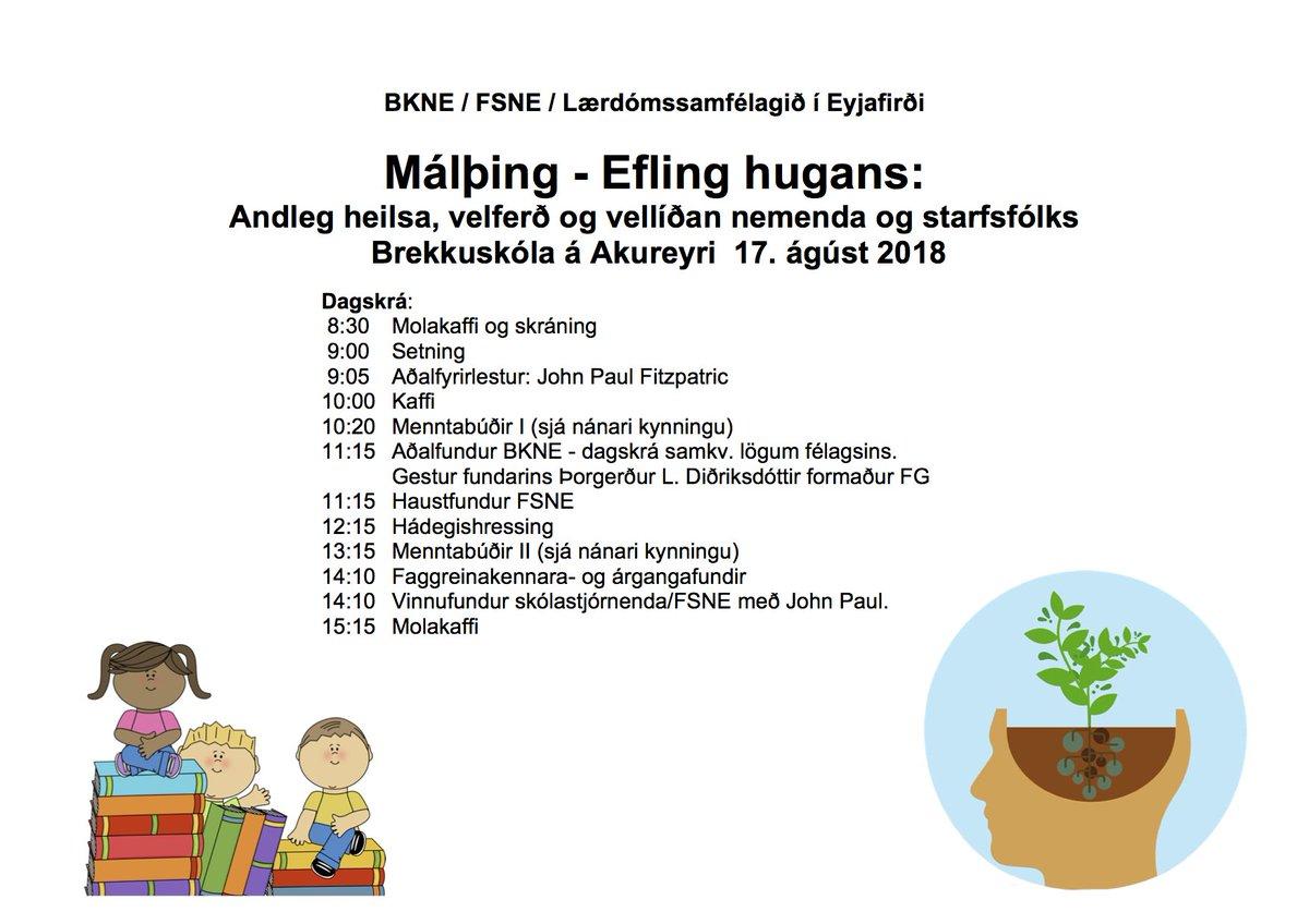 test Twitter Media - #bkne2018 Spennandi föstudagur á Akureyri - Málþing, menntabúðir og aðalfundur BKNE #menntaspjall https://t.co/mNuFFICIrZ