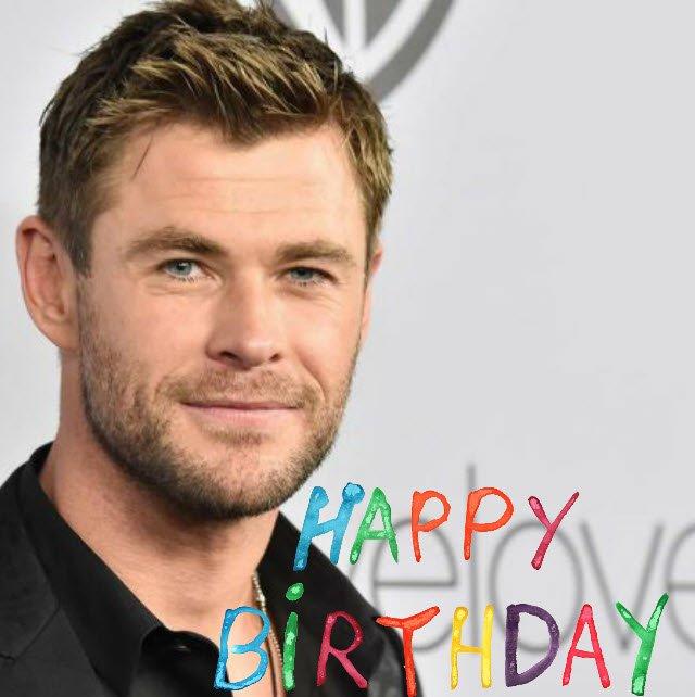 Happy Belated Birthday to Chris Hemsworth