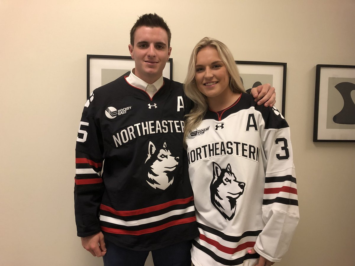 ‼️ FIRST LOOK ‼️ Here are our @GoNUmhockey and @GoNUwhockey jerseys with our...