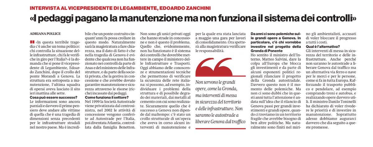 #Genovaponte