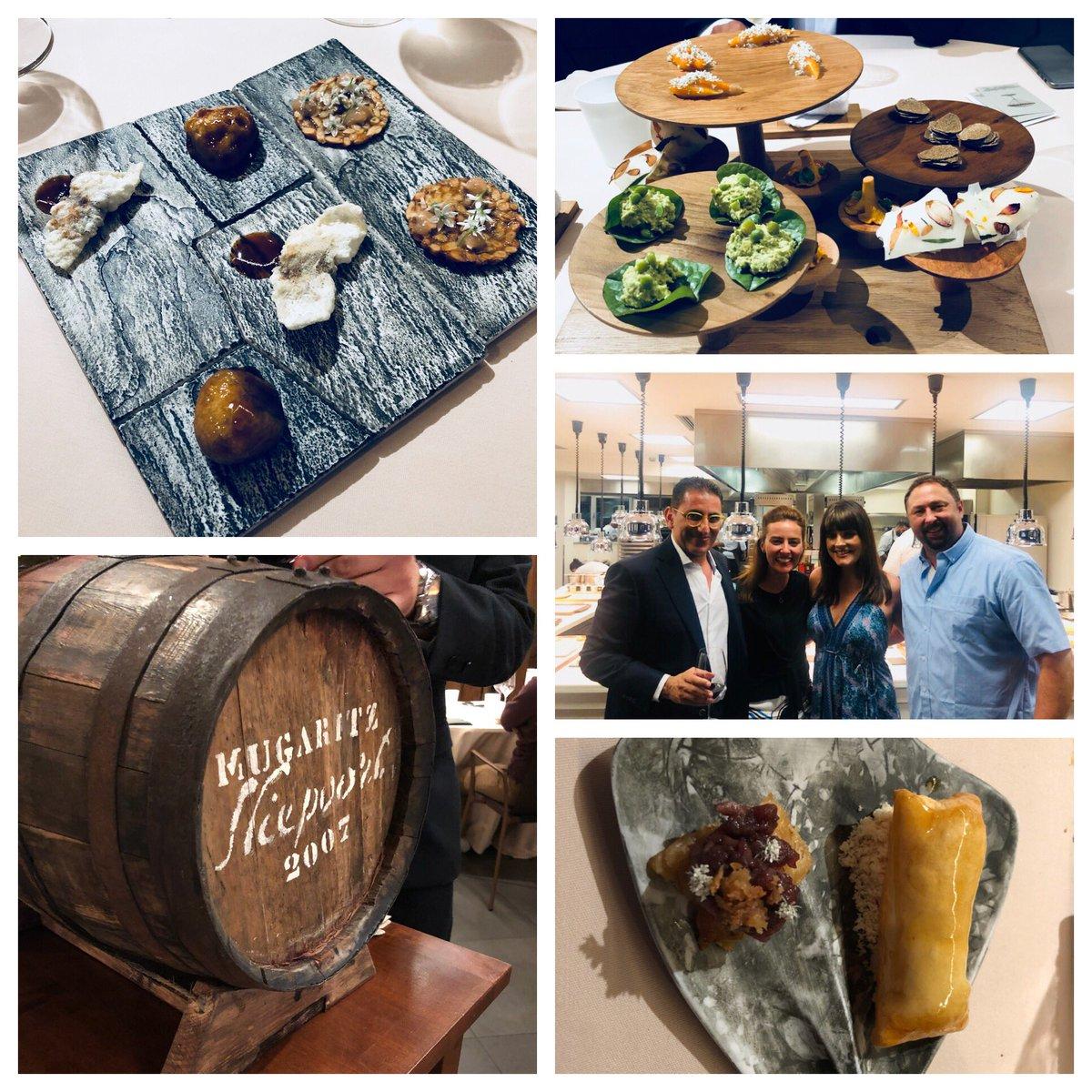 Great food and amazing company at @Mugaritz in San Sebastián! #Spain https://t.co/qgqaoBkrIE