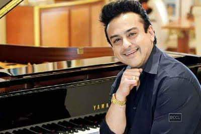 """              ....          \"" Happy Birthday Playback Singer Adnan Sami."