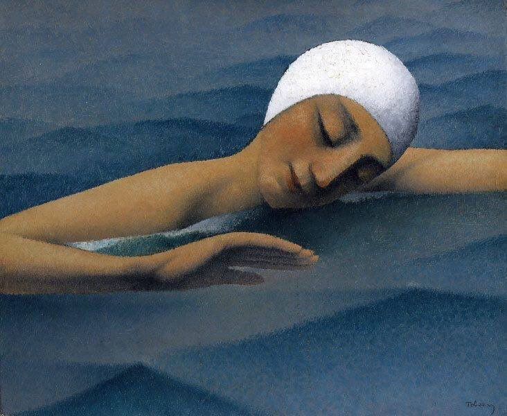 RT @_Emmet_Emmet: The Swimmer  Tobeen (Felix Elie Bonnet) 1880-1938 https://t.co/zpayRaQ0tM