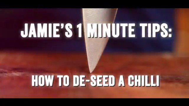 1 MINUTE TIP: how to de-seed a chilli ???? #WednesdayWisdom https://t.co/48kYPKpMhb