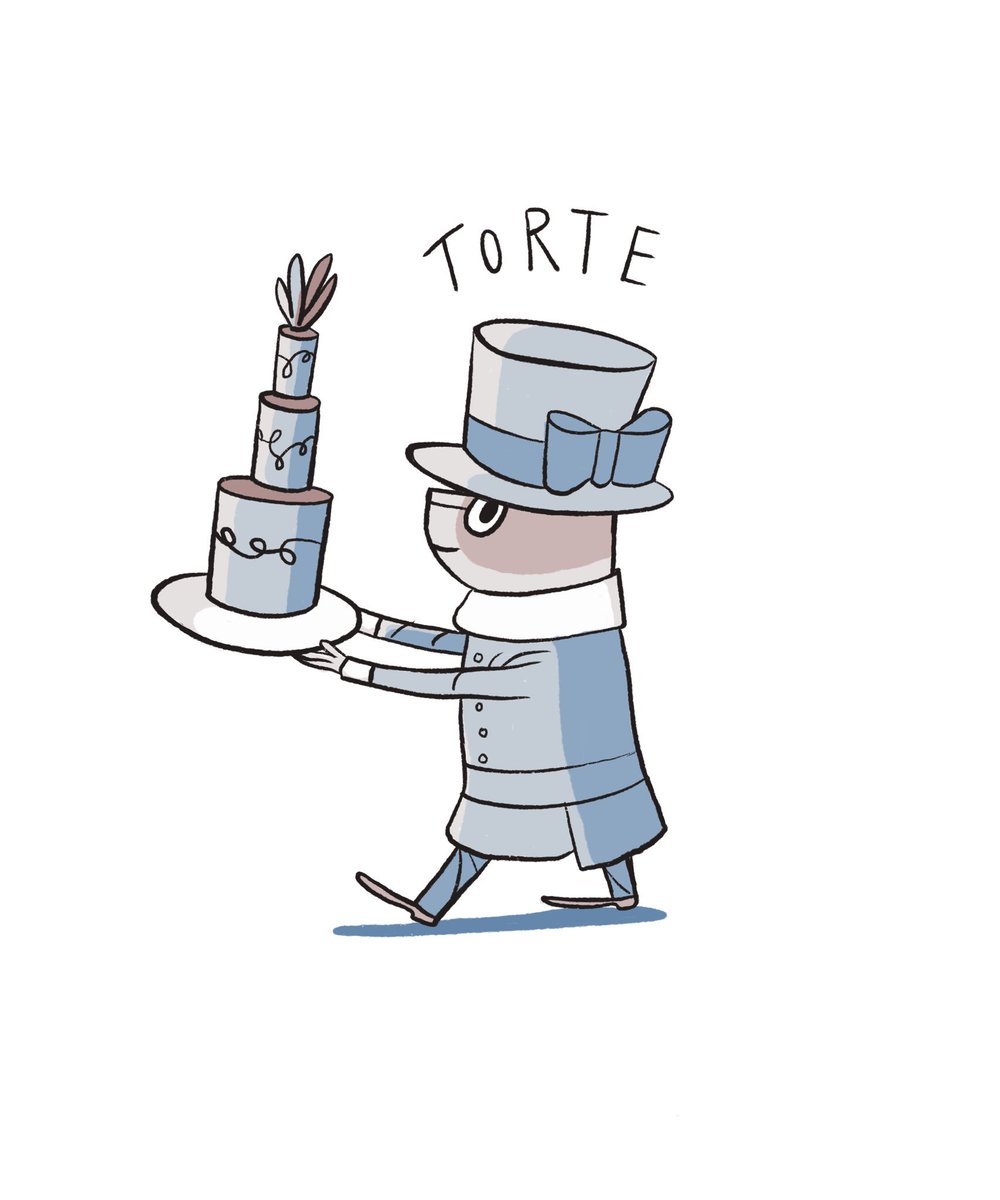 RT @NiciGregory: Torte anybody?! #illustration #CatsOfTwitter https://t.co/COsvZ51GYo