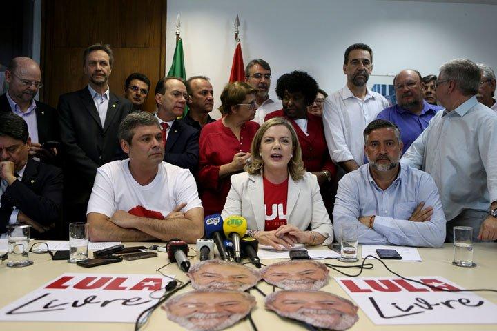 @BroadcastImagem: PT protocola requerimentos para convocar Jungmann e PGR sobre episódio de Lula. Wilton Júnior/Estadão