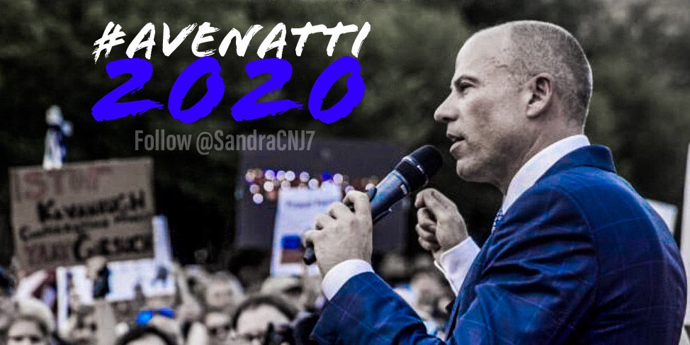 RT @SandraCNJ7: RT this if you want @MichaelAvenatti to run for @POTUS!  #Avenatti2020 🇺🇸 https://t.co/DflbpDz7Xy