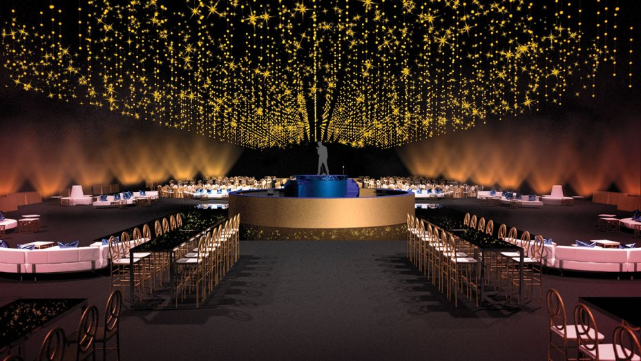 First look: Goodbye, seated dinner. Emmys shake up Governors Ball