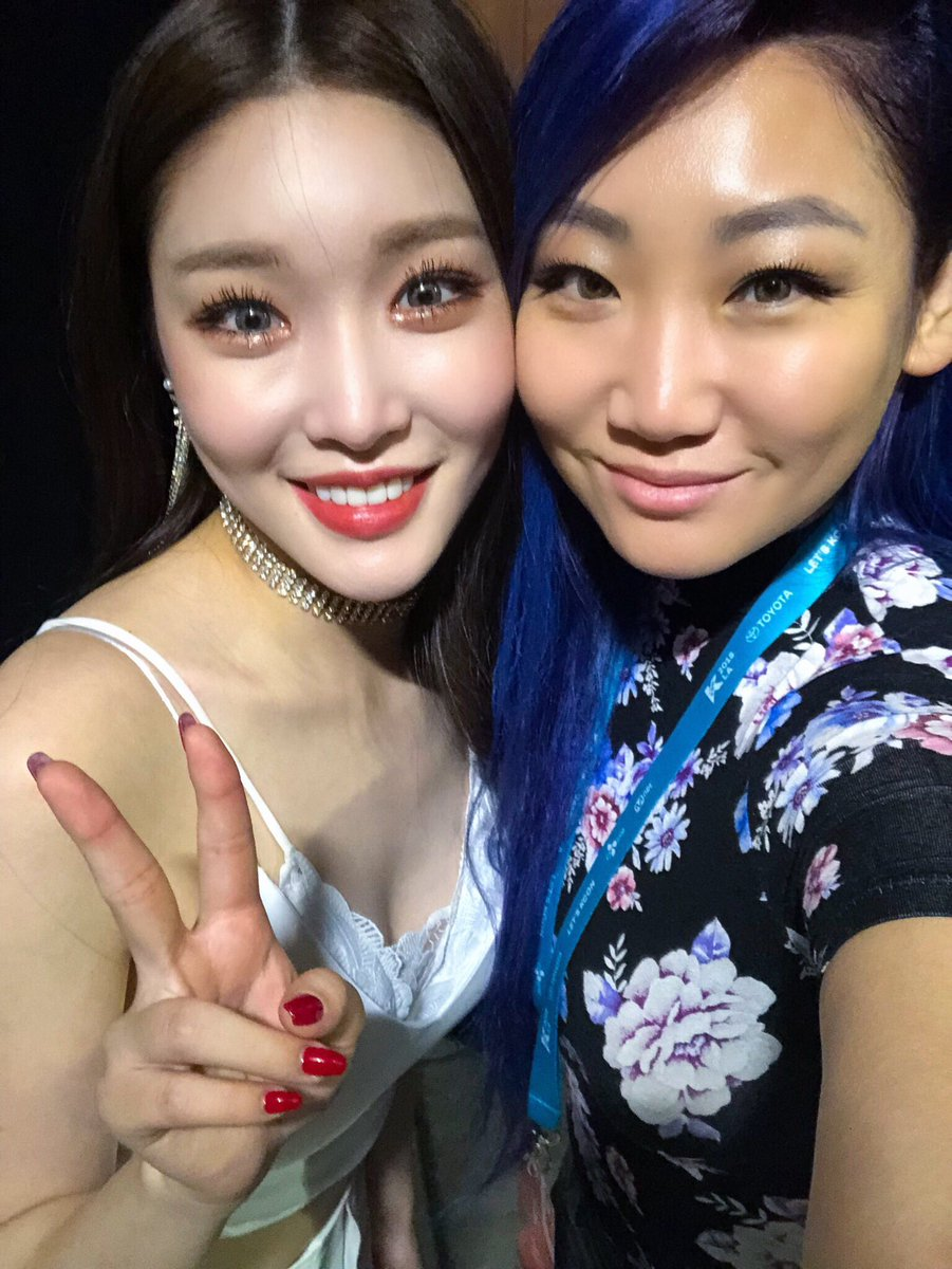 test Twitter Media - Did you guys have fun at our star live talk with #Chungha at @kconusa LA?! We did!!  #kcon #kconla #kcon18la #losangeles #eSNa #esnainla #esnathesinger #청하 #에스나 #엘에이 #아이오아이 #ioi https://t.co/cBVaZm1XqW
