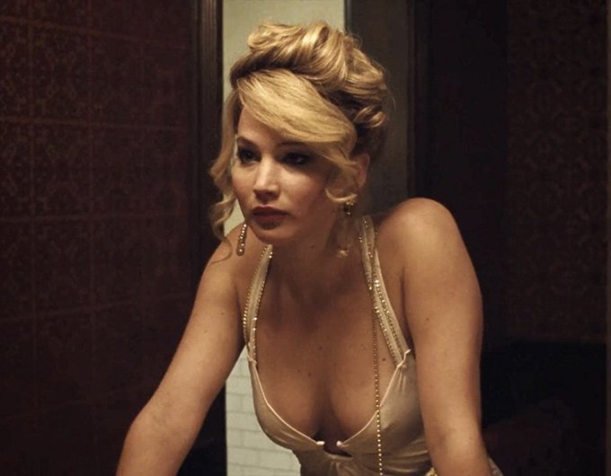 Jennifer Lawrence in AMERICAN HUSTLE   2013.  Happy birthday Miss Lawrence.