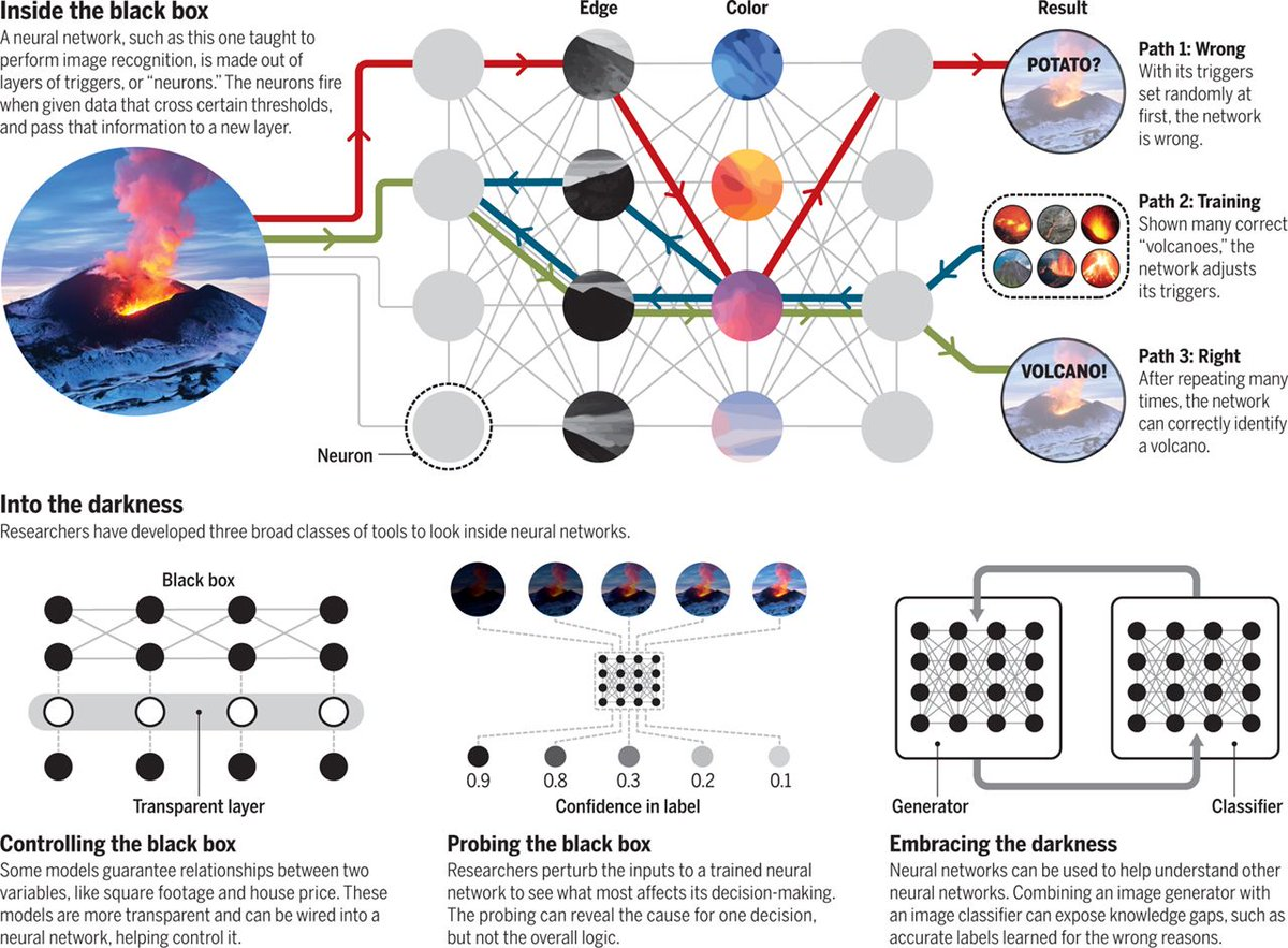 test Twitter Media - The #AI detectives | @sciencemagazine  https://t.co/TkjLk49KPc  Researchers have created #neuralnetworks that, in addition to filling gaps left in photos, can identify flaws in an #artificialintelligence.  @Microsoft @UW @Google @DARPA #MachineLearning #DataScience https://t.co/ymiTMqi6Oh
