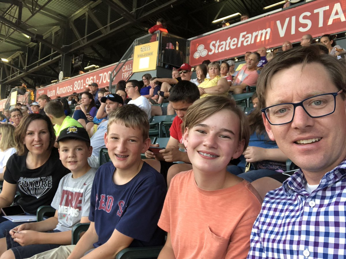 test Twitter Media - We had fun at the @SaltLakeBees game last night with families of the Salt Lake County Medical Society. I love serving in leadership of this organization and will continue to advocate for policies that help patients in our community. #PatientsFirst #TeamMedicine https://t.co/cWVGqoRFpM