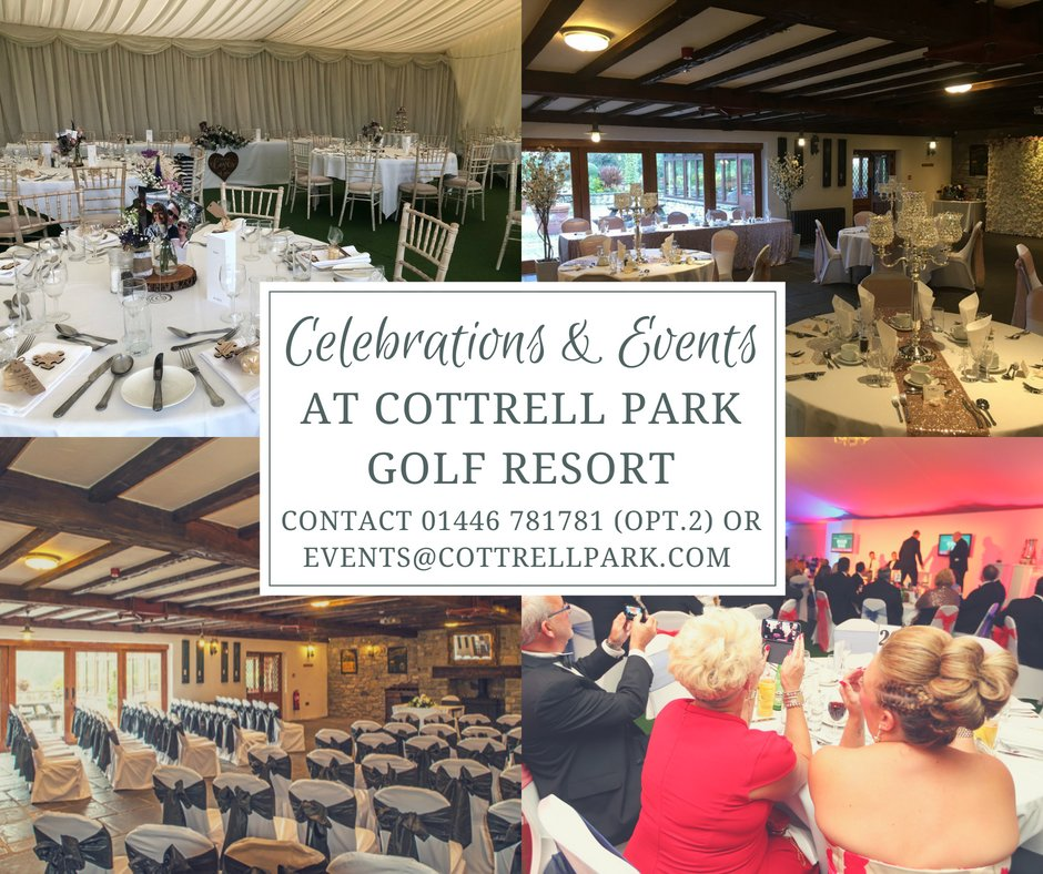 test Twitter Media - Looking for a Venue for a Celebration or Function? 🥂🎂  - Weddings - Anniversaries - Birthdays - Engagement Parties - Retirement Parties - Baby Showers - Wakes - Corporate Events - Christmas Parties  T: 01446 781781 Opt E: sales@cottrellpark.com https://t.co/RBBVw6fF1Z