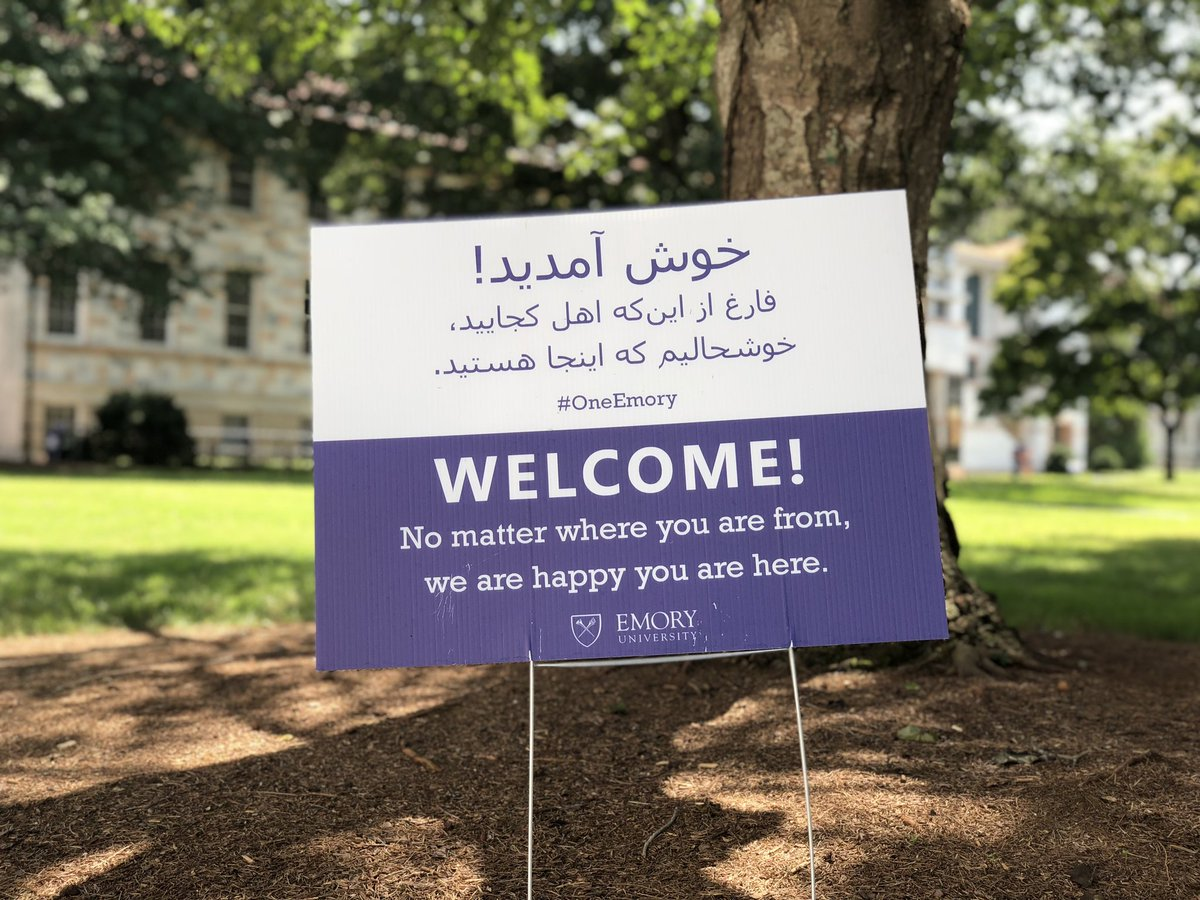 Ready to welcome #Emory22 international students arriving on campus next week! 💙💛 https://t.co/KsCEkMCvoL