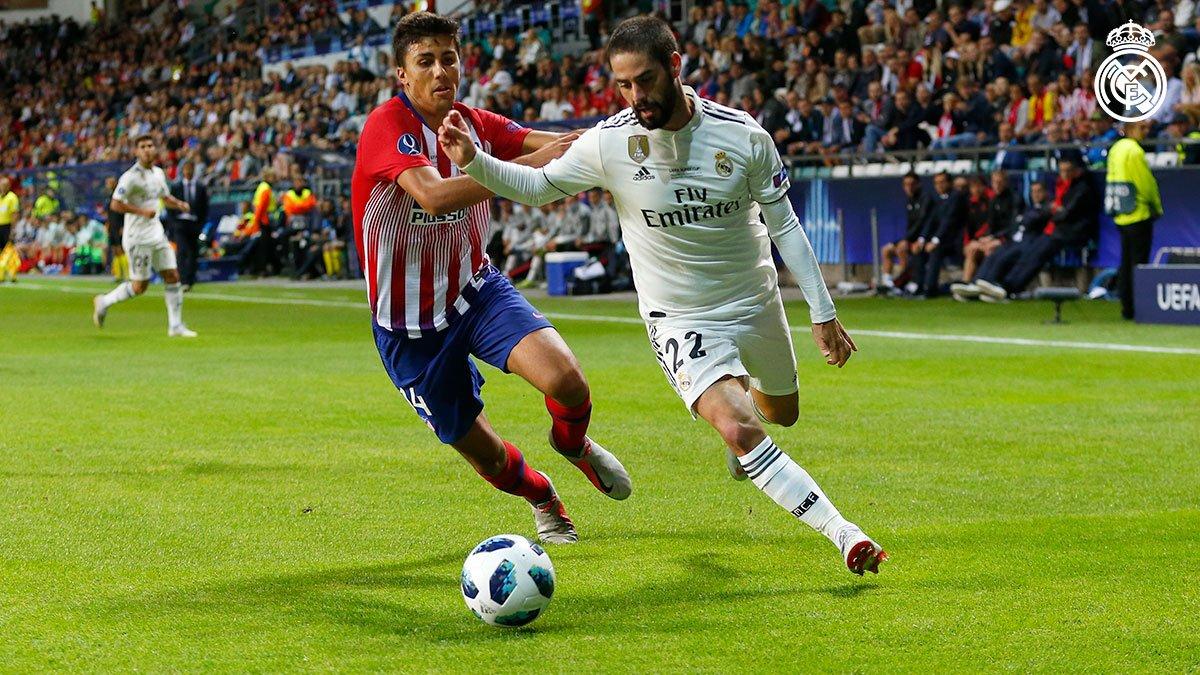 RT @realmadriden: ⏸ HT: @RealMadrid 1-1 @atletienglish (@Benzema 27'; Costa 1'). #RMSuperCup | #HalaMadrid https://t.co/iQmzrjeAXL