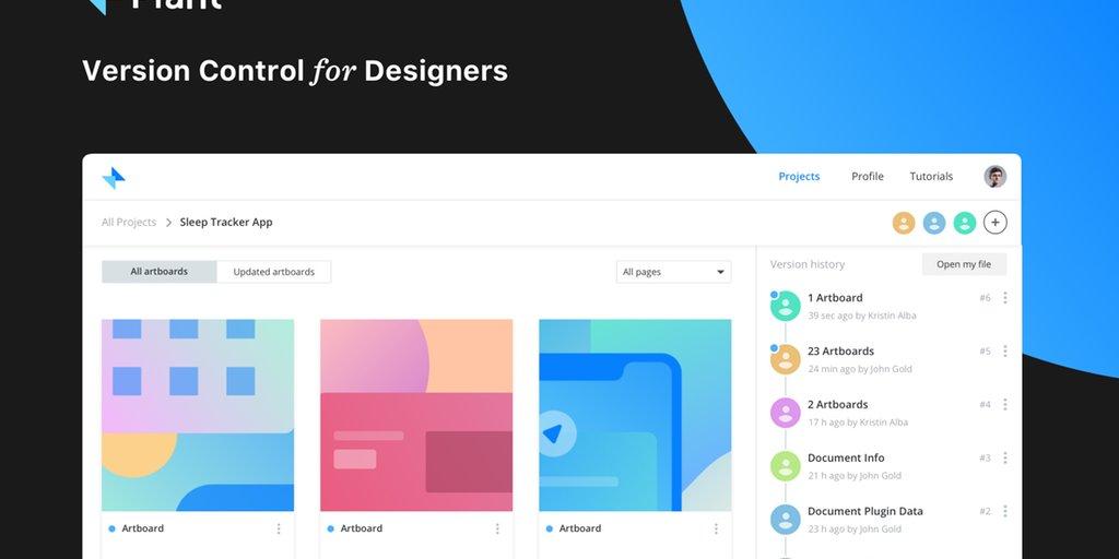 GitHub, but for designers 🖥️ https://t.co/oOAyDb09mT https://t.co/RekJNgAPH0