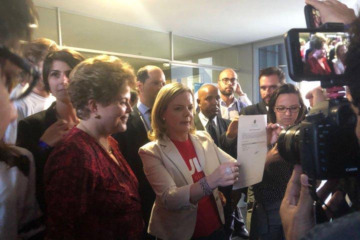 @BroadcastImagem: PT registra candidatura de Lula no TSE. Mariana Haubert/Estadão