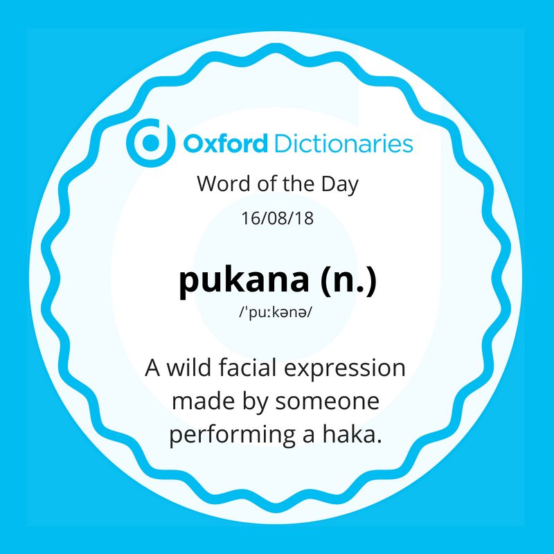 test Twitter Media - Word of the Day: pukana - a wild facial expression made by someone performing a haka. https://t.co/LbYdq42xU8 https://t.co/bMb6vVMFBM