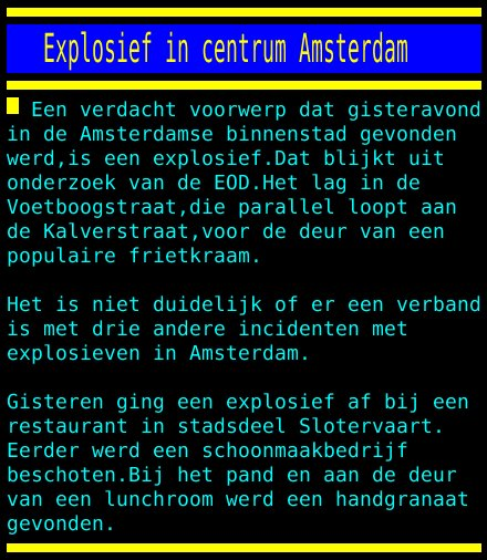 test Twitter Media - Explosief in centrum Amsterdam https://t.co/NiJV6o4E6j