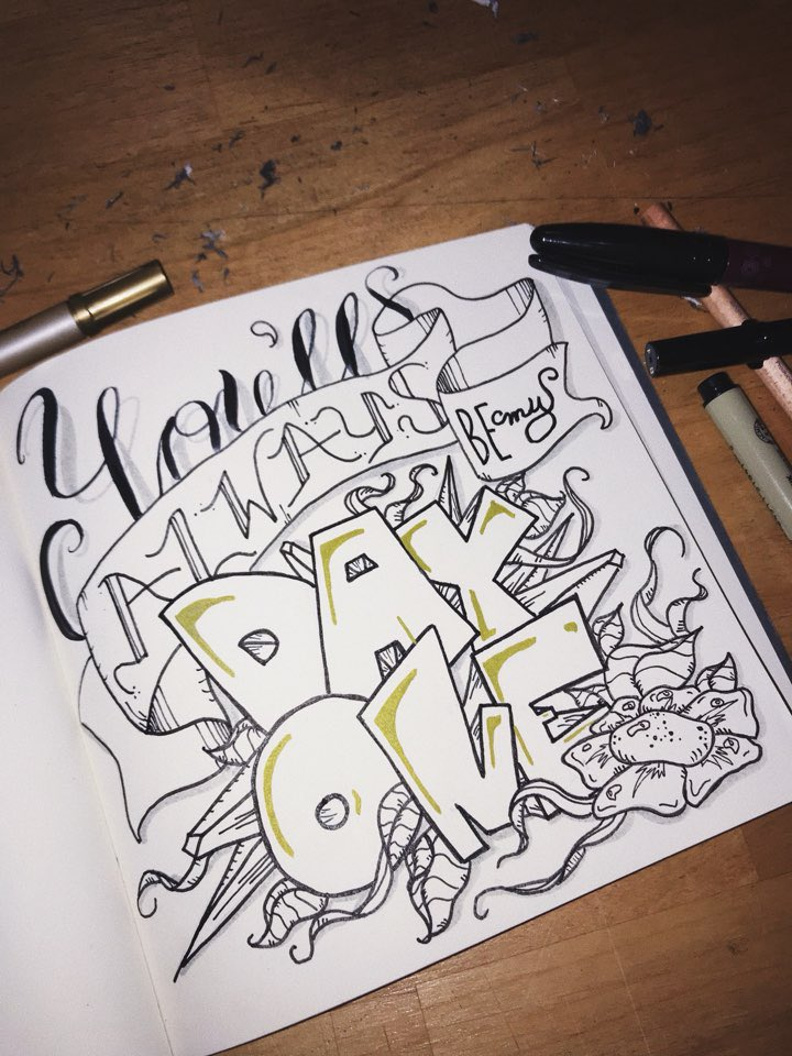 "RT @WE_THE_BOYZ: 달켈리가 돌아왔슴돠! Bringing back the calligraphy realness 🌙 ""Day 1 ◑"" - Honne https://t.co/pmtlyCGXmz"