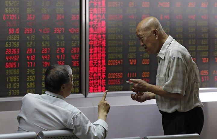 @BroadcastImagem: Bolsas da Ásia caem, mas ficam longe de mínimas com reaproximação de China e EUA. Andy Wong/AP