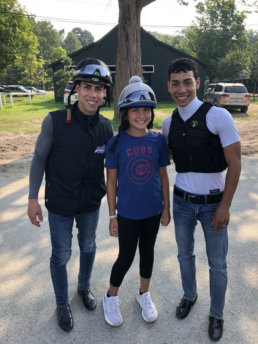 test Twitter Media - IVY (we had to call her Ivy Bell) enjoying a Thursday morning at Saratoga. The mornings are the best part @jose93_ortiz @iradortiz and why many love the sport. https://t.co/Nk59U3JczA