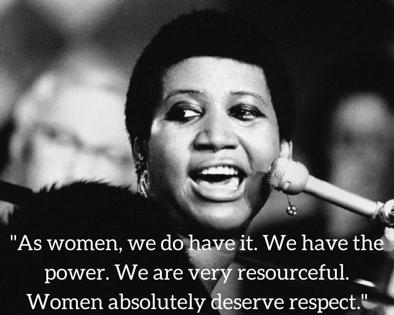 What can be said about a woman who changed our world so completely and for generations. With her voice, she made us sit up, listen and demand R.E.S.P.E.C.T. accepting nothing less than our worth. So much more than a singer, @ArethaFranklin's impact will forever be felt. https://t.co/QOVn20Xicb