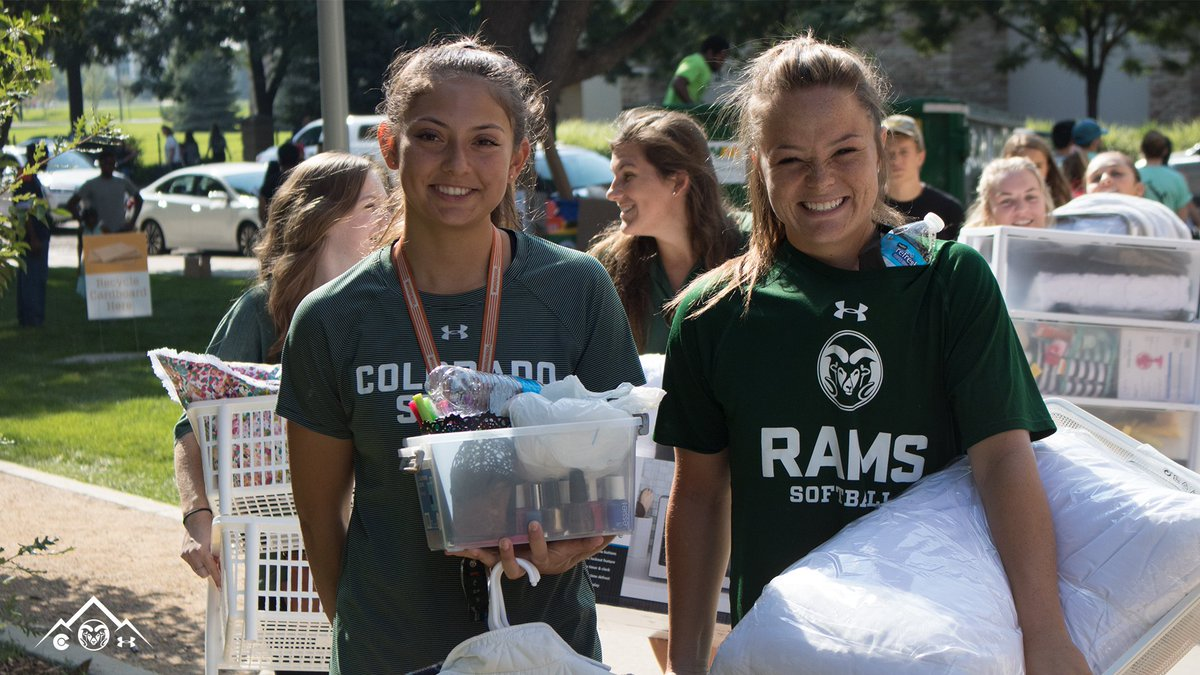 RT @CSUSoftball: Happy #RamWelcome! Great to meet new Rams and help with move-in.  #ProudToBe | #CSURams https://t.co/6zBSjcOqiK