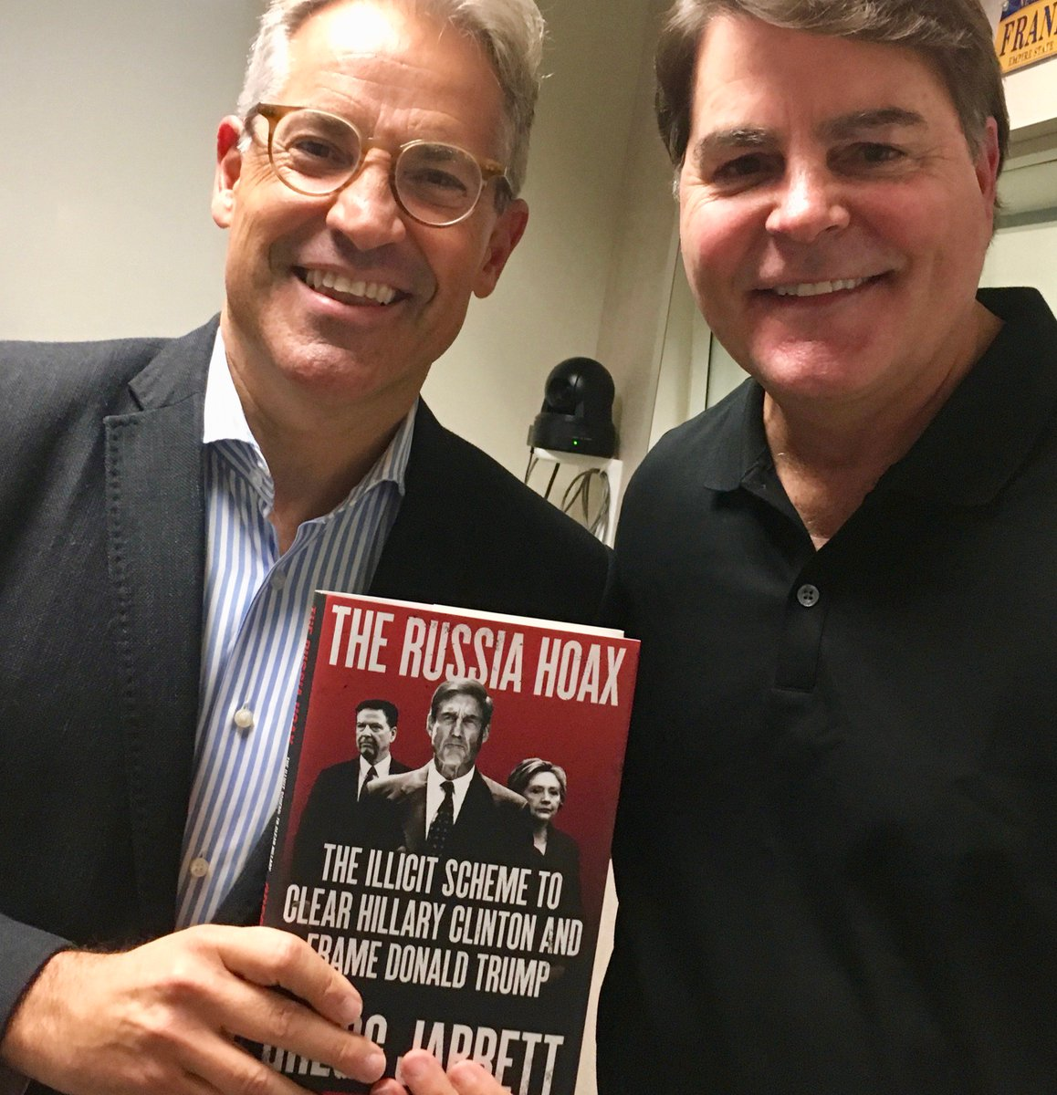 test Twitter Media - Today on the @EricMetaxasShow I talk to the great @GreggJarrett about his #1 NYTimes Bestseller, THE RUSSIA HOAX!!!  I cannot tell you how important this is, but I hope he can!! Do not miss this. A great honor to have an hour with him. @ericmetaxas @seanhannity @SaraCarterDC https://t.co/FQbIJkTBue